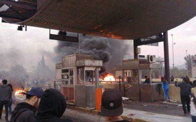El octubre chileno: ¡en la puerta del horno!